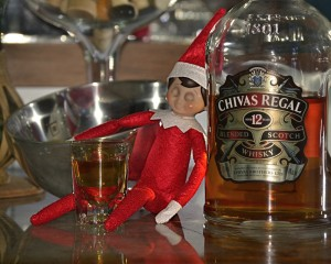 Drunk Elf on the Shelf
