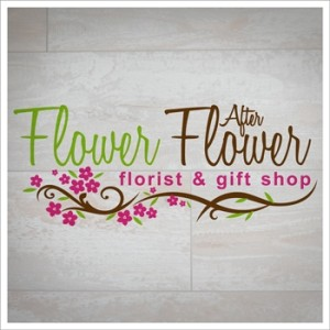Final Logo design for Flower After Flower florist.